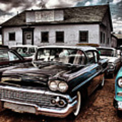 Nothing Buy Skies And Chevy's 2 Art Print by John De Bord