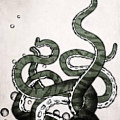 Octopus Tentacles Art Print by Nicklas Gustafsson