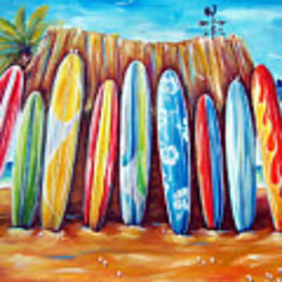 Off-shore Art Print