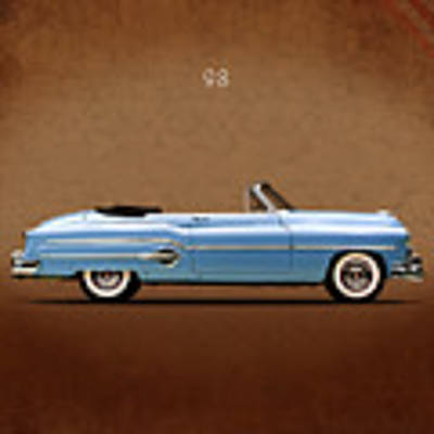 Oldsmobile 98 1951 Art Print