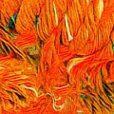 Orange Art Art Print by Colette V Hera Guggenheim