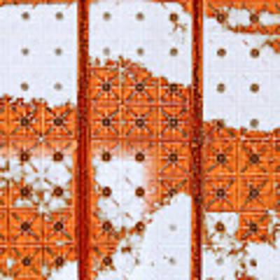 Orange Scented Bleach Art Print by Lita Kelley