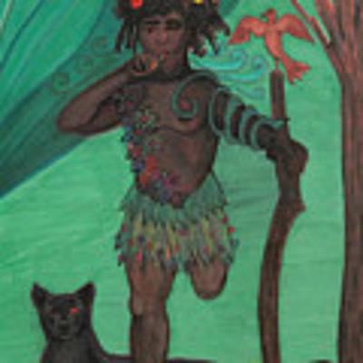 Osain Art Print by Gabrielle Wilson-Sealy