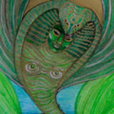 Wadjet Osain Art Print by Gabrielle Wilson-Sealy