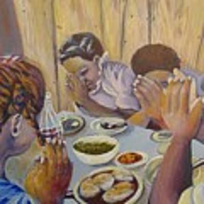 Our Daily Bread Art Print by Saundra Johnson