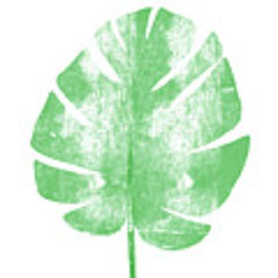 Palm Leaf- Art By Linda Woods Art Print by Linda Woods