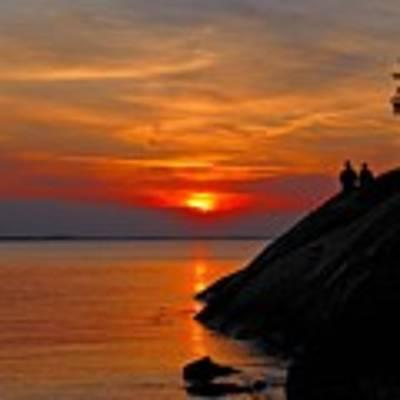 Plum Cove Sunset Art Print by AnnaJanessa PhotoArt