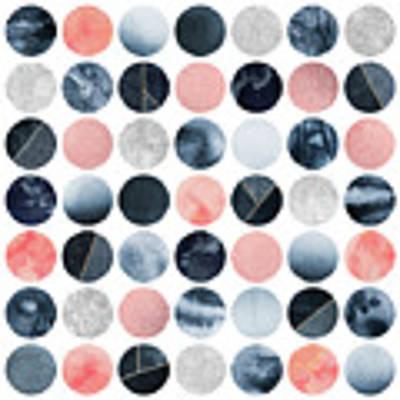 Pretty Dots Art Print by Elisabeth Fredriksson
