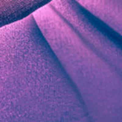Purple And Bold Art Print by Yogendra Joshi