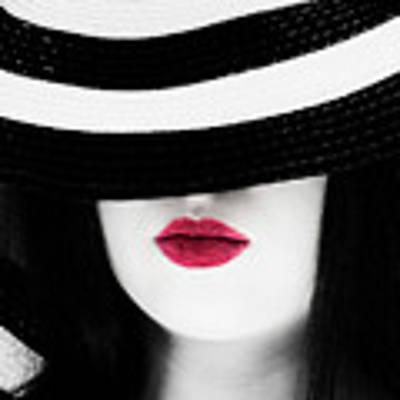 Red Lips Art Print by Jim Thompson