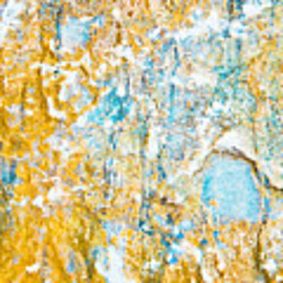 Rock Texture Art Print by Tom Gowanlock
