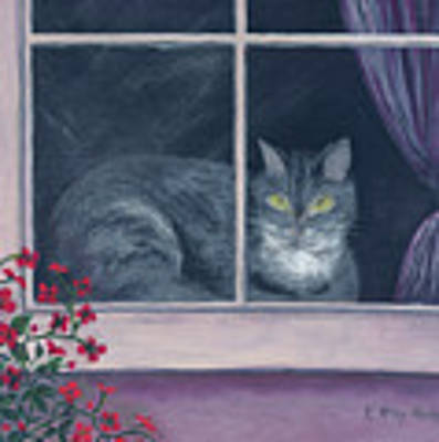 Room With A View Art Print by Kathryn Riley Parker