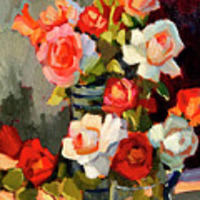 Roses From My Garden Art Print