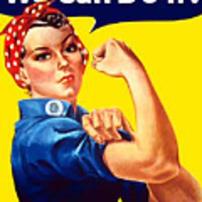 Rosie The Rivetor Art Print