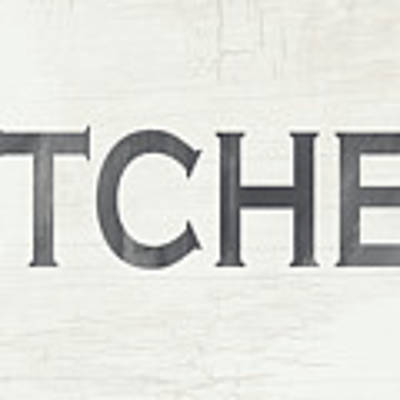 Rustic Kitchen Sign- Art By Linda Woods Art Print