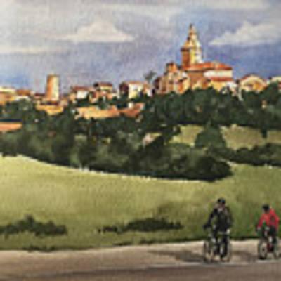 Sencelles, Mallorca Art Print by David Gilmore