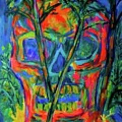 Skull Island Art Print by Kendall Kessler