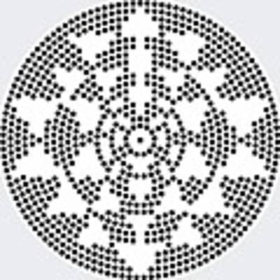 Sri Dots Art Print by Robert Thalmeier