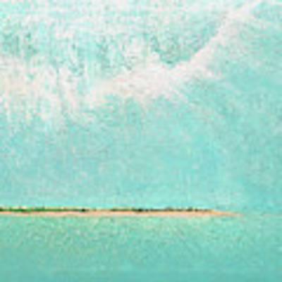 Subtle Atmosphere - Triptych 2 Of 3 Art Print by Jaison Cianelli