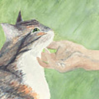 Sweet Spot Art Print by Kathryn Riley Parker