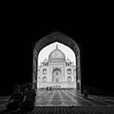 Taj Mahal Art Print by Basem Al-qasim