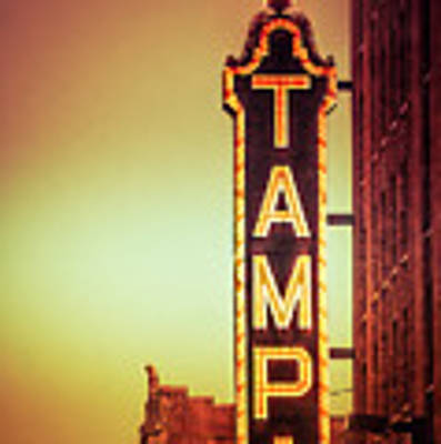 Tampa Theatre Art Print by Carolyn Marshall