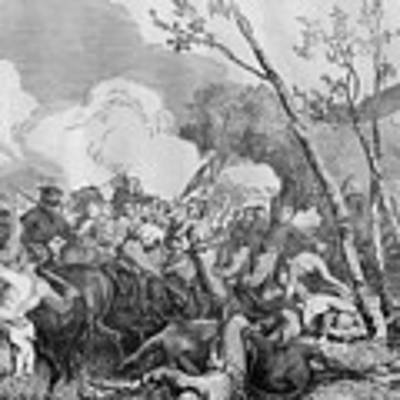 The Battle Of Bull Run Art Print by War Is Hell Store