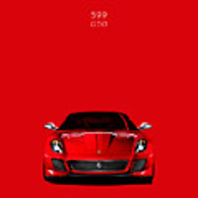 The Ferrari 599 Gto Art Print