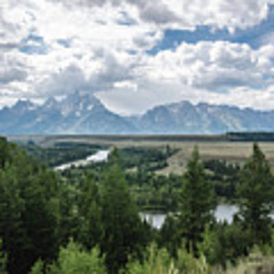 The Grand Tetons Art Print by Margaret Pitcher