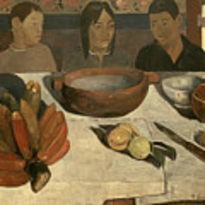 The Meal Art Print