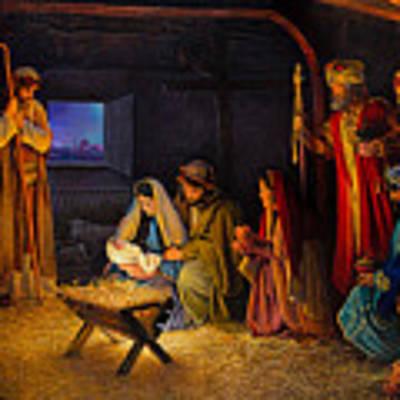 The Nativity Art Print by Greg Olsen