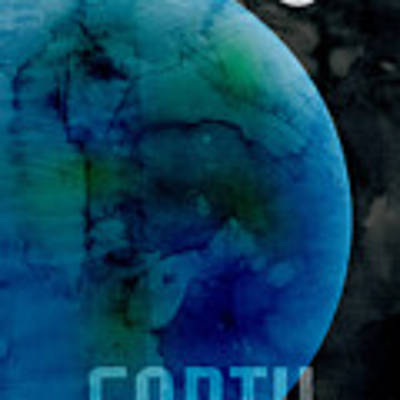 The Planet Earth Art Print