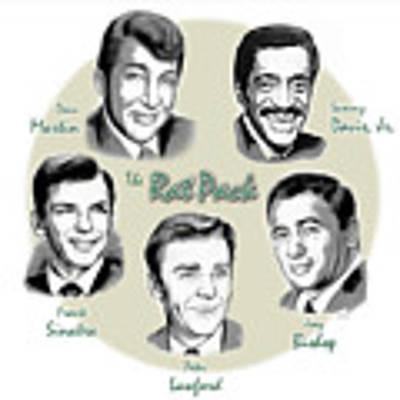 The Rat Pack Original by Greg Joens