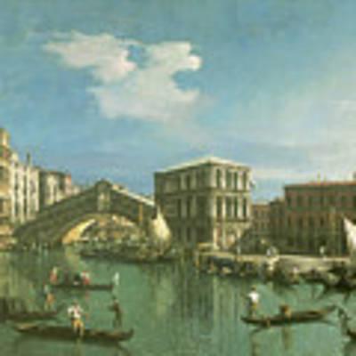 The Rialto Bridge Art Print