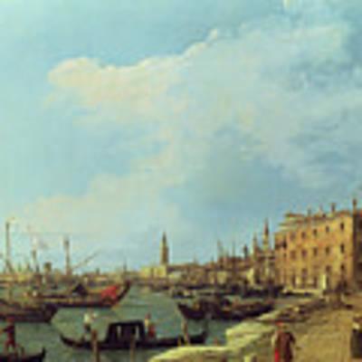The Riva Degli Schiavoni Art Print