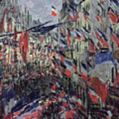 The Rue Saint Denis Art Print