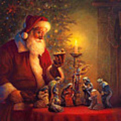The Spirit Of Christmas Art Print