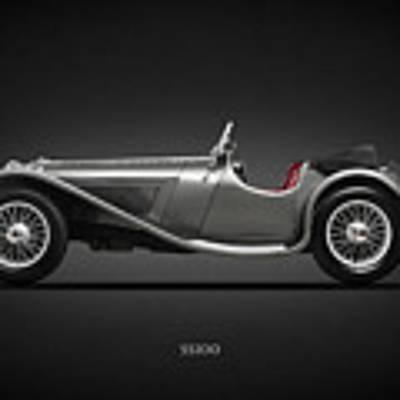 The Ss100 1937 Art Print by Mark Rogan