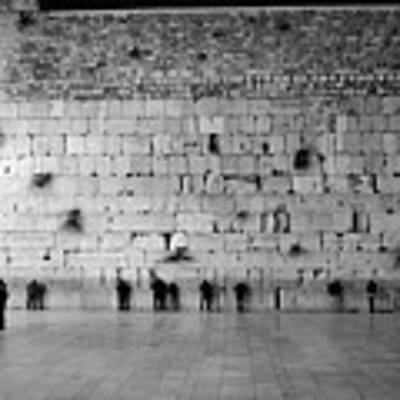 The Western Wall, Jerusalem 2 Art Print by Perry Rodriguez