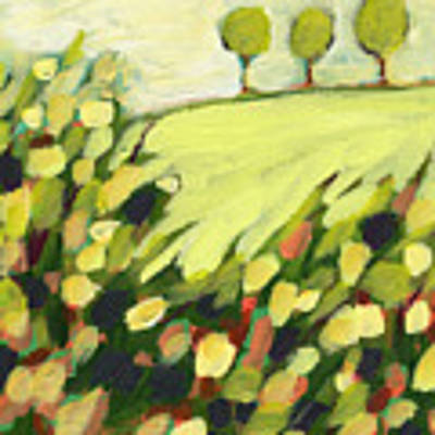 Three Trees On A Hill Original by Jennifer Lommers