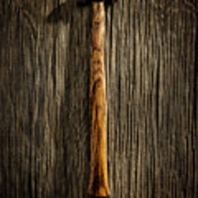 Tools On Wood 18 Art Print