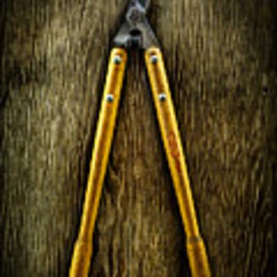 Tools On Wood 34 Art Print