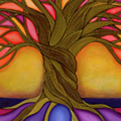 Tree Of Life Art Print by Carla Bank
