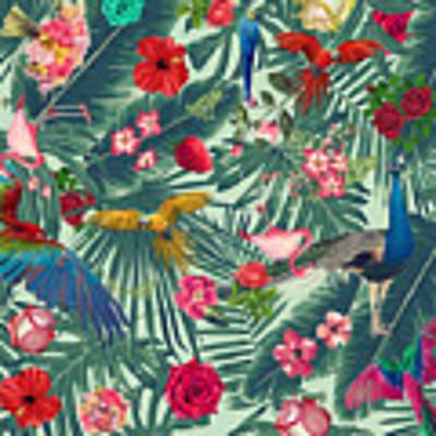 Tropical Fun Time  Art Print