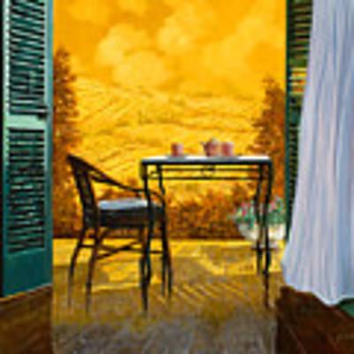Un Caldo Pomeriggio D'estate Art Print by Guido Borelli