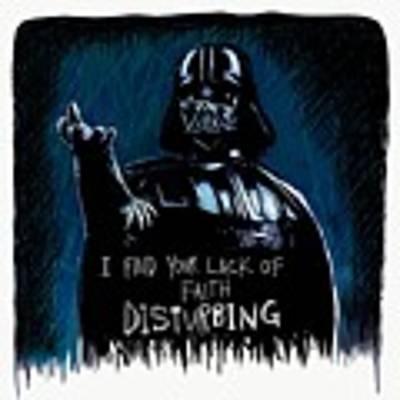 Vader Art Print by Antonio Romero