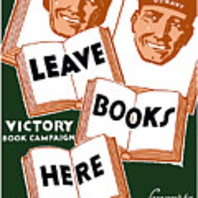Victory Book Campaign - Wpa Art Print