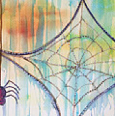 Water Web Art Print by Angelique Bowman
