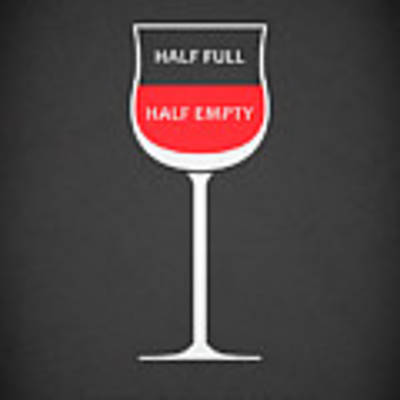 Wine Glasses 1 Art Print