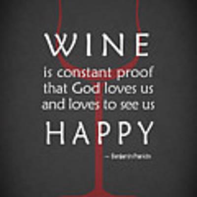 Wine Glasses 2 Art Print